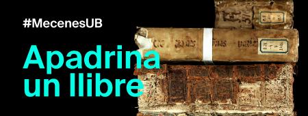 Campanya Mecenes UB - Apadrina un llibre