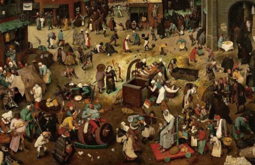 Pieter Bruegel el Vell: paisatges i figures del carnaval a la quaresma