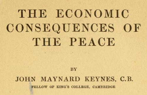 Keynes i l'economia de la pau